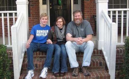 Teresa, Griffin, Eric, Dec 2013, Image 2